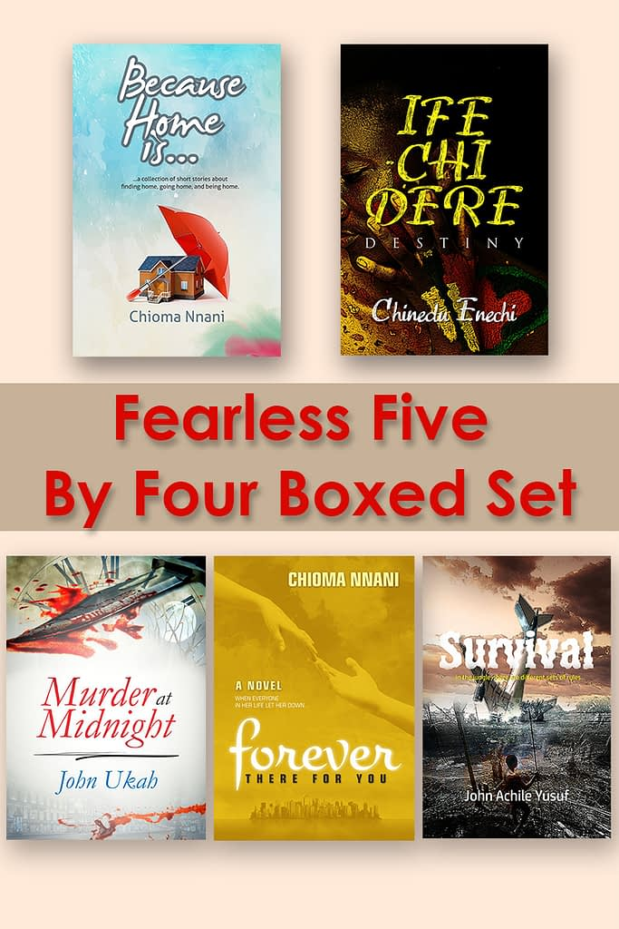 fearless five by four boxed set